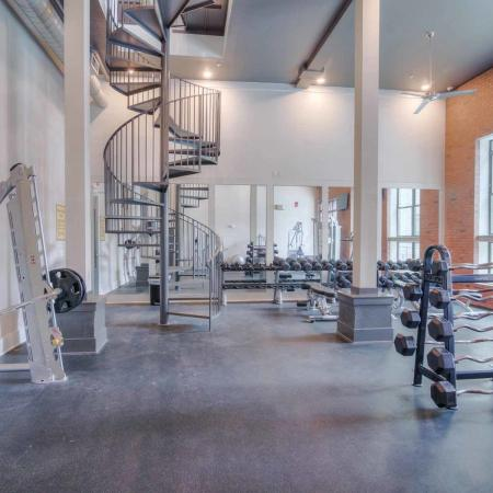 Catalyst Apartments Lifestyle - Fitness Center