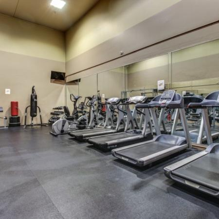 Villas on Apache Apartments Lifestyle - Fitness Center Cardio Equipment