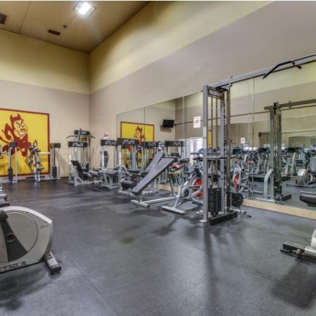 Villas on Apache Apartments Lifestyle - Fitness Center Equipment