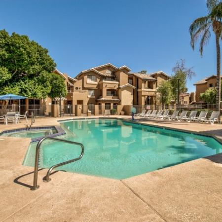 Villas on Apache Apartments Lifestyle - Swimming Pool