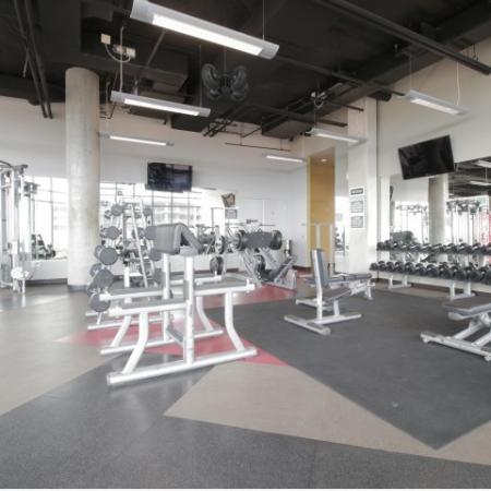 West Sixth Apartments Lifestyle - 24 Hour Fitness Gym