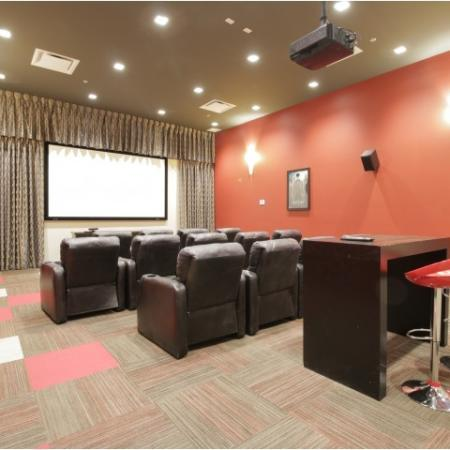 West Sixth Apartments Lifestyle - In-house Movie Theater