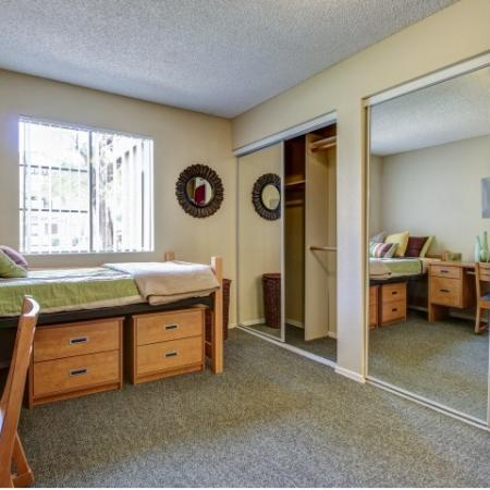 Villas on Apache Apartments Furnished Apartment Bedroom