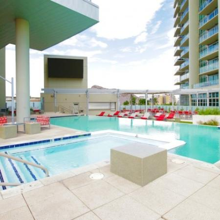 West Sixth Apartments Lifestyle - Hot Tub