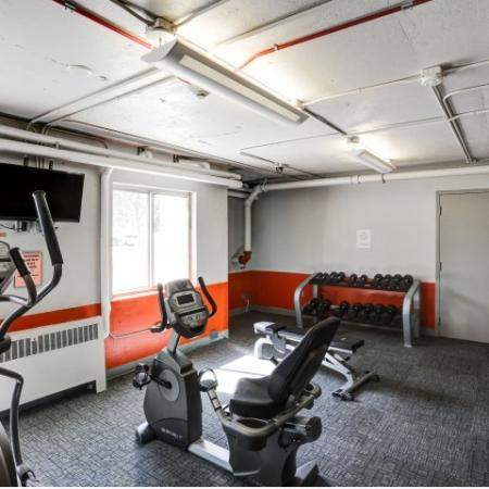 The Landing Apartments Lifestyle - 24 Hour Fitness Center Equipment
