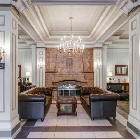 Wilsonian Apartments Lobby