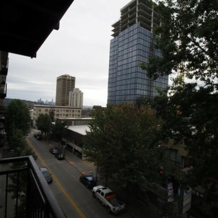 1x1 Den Balcony