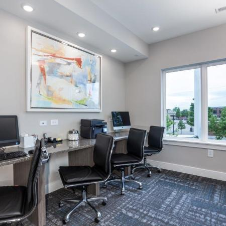 Resident Business Center | Vanguard Heights