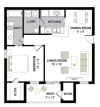 Monticello- 1 Bed/1 Bath