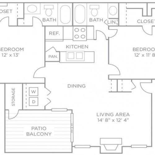 Two Bedroom Premiere Terrace