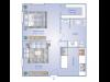 Studio Floor Plan | Fern Park Apartments | Magnolia