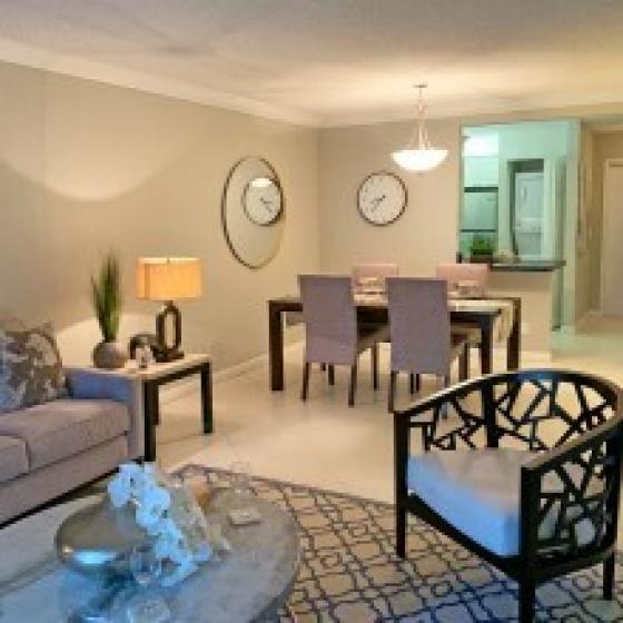 Interior Lobby | Apartments In Palm Beach Gardens Florida | Turnbury at Palm Beach Garden