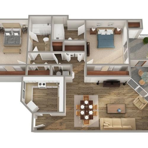 Savannah Floorplan