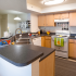 Fully equipped kitchen with lots of storages
