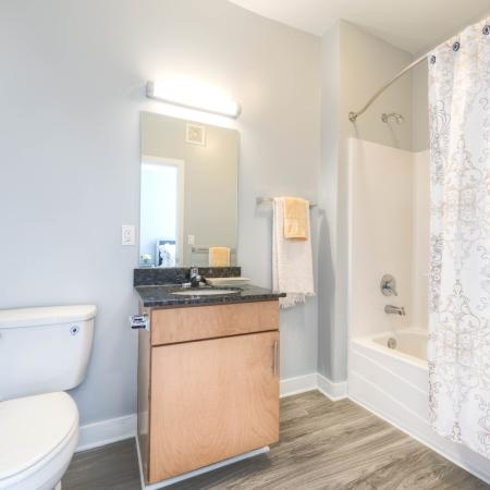 Elegant Bathroom | Apartments in Louisville, KY | The Clubhouse