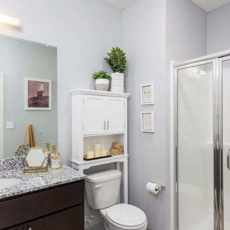Luxurious Student Bathroom | Apartments for rent in Kent, OH | 345 Flats