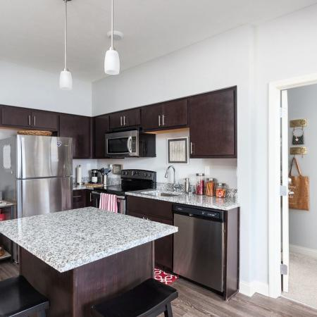Luxurious Kitchen | Apartment Homes in Kent, OH | 345 Flats
