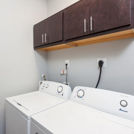 In-apartment Laundry    Apartments Kent, OH   345 Flats