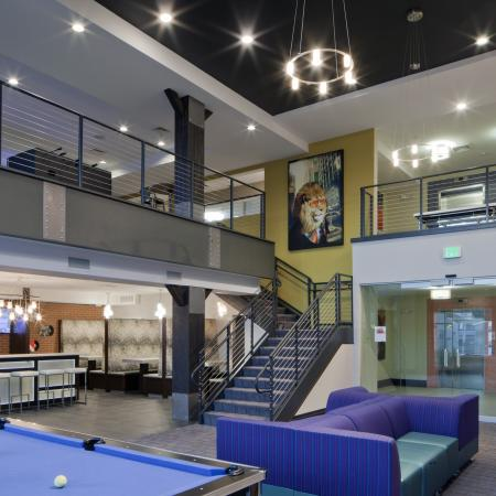 Resident Pool Table | Apartment in Urbana, IL | Campus Circle