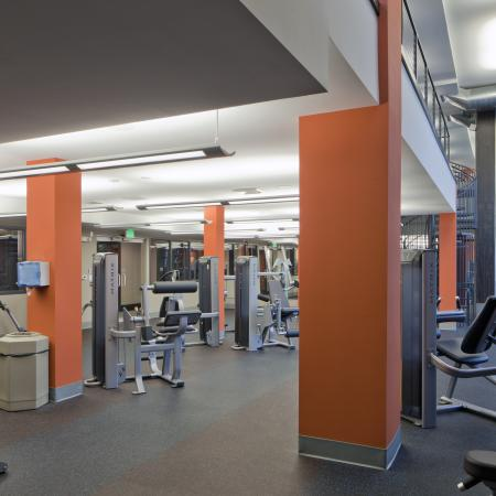 State-of-the-Art Fitness Center | Apartment Homes in Urbana, IL | Campus Circle