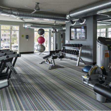 Cutting Edge Fitness Center   Apartments Homes for rent in Minneapolis, MN   44 North