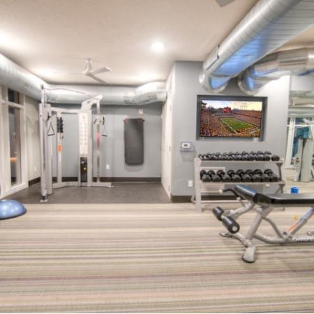 24-hour Fitness Center   Minneapolis MN Apartments   44 North