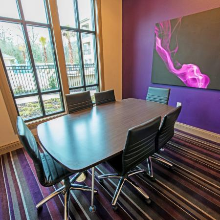 Community Study Lounge   Apartment Homes for rent in Baton Rouge, LA   The Exchange at Baton Rouge
