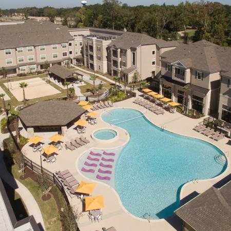 Resort Style Pool | Baton Rouge, LA Apartments | The Exchange at Baton Rouge