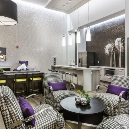 Spacious Community Club House   Baton Rouge LA Apartments For Rent   The Exchange at Baton Rouge