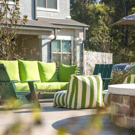 Relaxing Sun Deck   Apartments for rent in Baton Rouge, LA   The Exchange at Baton Rouge