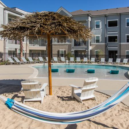 Resident Sun Deck | Baton Rouge LA Apartment For Rent | The Exchange at Baton Rouge