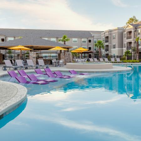 Resort Style Pool | Apartments in Baton Rouge, LA | The Exchange at Baton Rouge