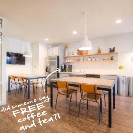 Free Coffee Bar   Apartment Homes in Minneapolis, MN   44 North