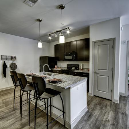 Modern Kitchen | Tuscaloosa AL Apartment For Rent | Riverfront Village