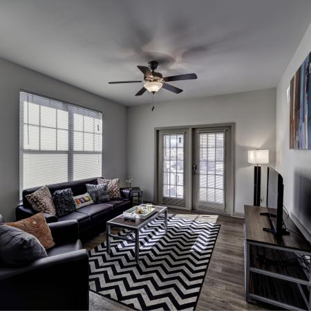 Elegant Living Room | Apartments for rent in Tuscaloosa, AL | Riverfront Village
