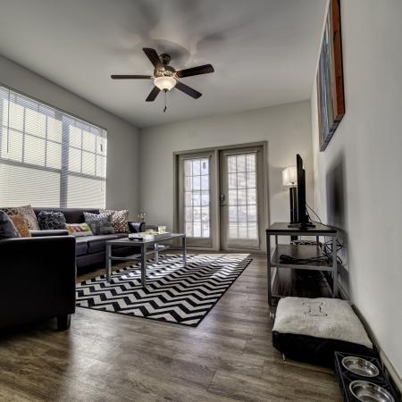 Luxurious Living Room | Apartment Homes in Tuscaloosa, AL | Riverfront Village