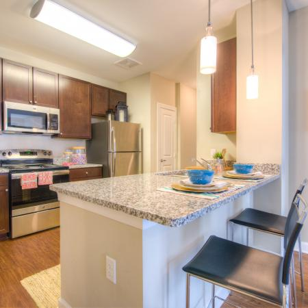 Elegant Kitchen | Apartments in Columbia, SC | Station at Five Points