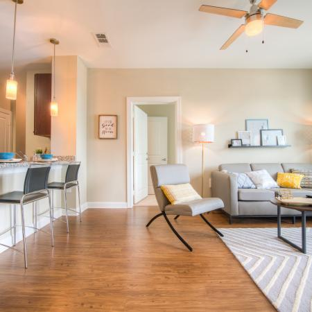 Luxurious Living Area | Apartment in Columbia, SC | Station at Five Points