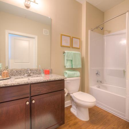 Elegant Bathroom | Apartments in Columbia, SC | Station at Five Points