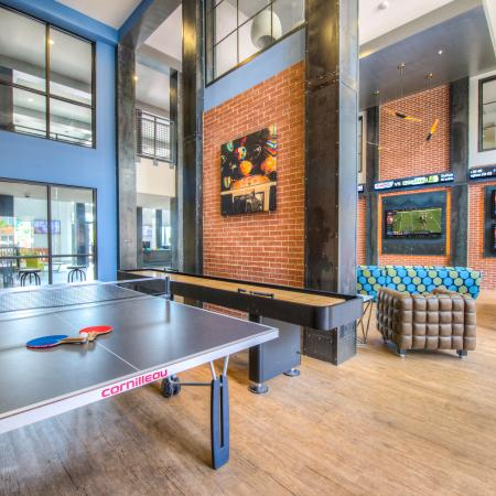 Resident Game Room | Apartments in Columbia, SC | Station at Five Points