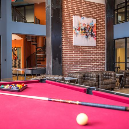 Community Game Room | Apartments for rent in Columbia, SC | Station at Five Points