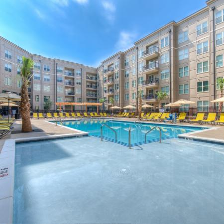 Sparkling Pool | Apartments for rent in Columbia, SC | Station at Five Points