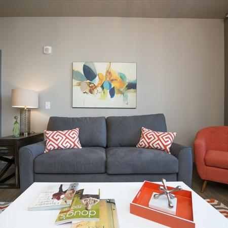 Spacious Living Room | Apartments in Nashville, TN | The Cadence