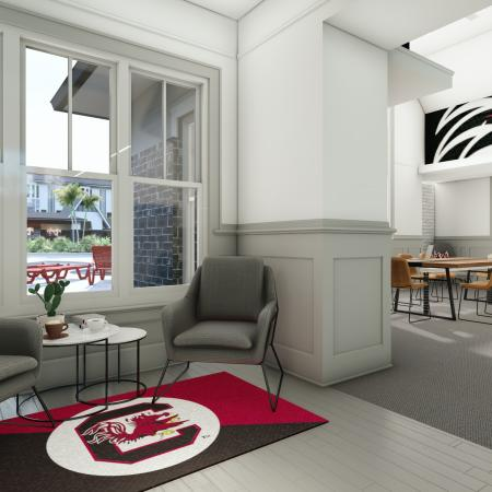 Spacious Resident Club House | Apartment in Columbia, SC | Reign Living at the Stadium