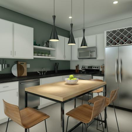 State-of-the-Art Kitchen | Columbia SC Apartment Homes | Reign Living at the Stadium