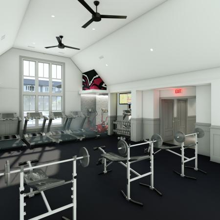 Cutting Edge Fitness Center | Apartments Homes for rent in Columbia, SC | Reign Living at the Stadium