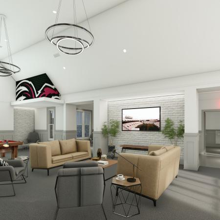 Community Game Room | Apartments for rent in Columbia, SC | Reign Living at the Stadium