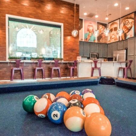 Resident Billiards Table | Apartments Murfreesboro, TN |
