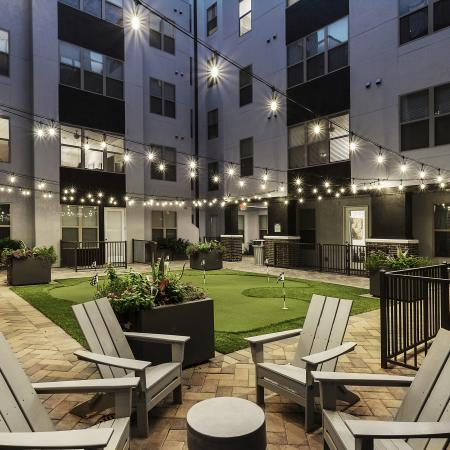 Beautiful Community Grounds | College Station TX Apartments | The Hudson