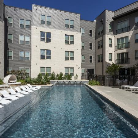 Sparkling Pool | Apartments for rent in College Station, TX | Berkeley House